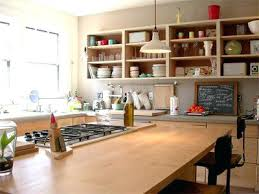 Kitchen Cabinets No Doors Kitchen Cabinets Without Doors How To Open Your Kitchen Shelving