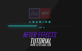 gfxfarm after effects tutorials and resources
