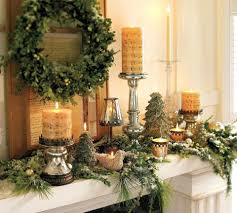 fireplace cute fireplace garland ideas for house christmas