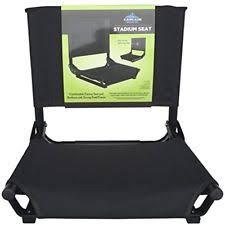 Stadium Chairs With Backs Cascade Mountain Tech Lighter Weight Cmt Stadium Seat Aluminum