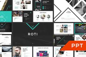 modern powerpoint templates roti powerpoint template presentation templates creative market