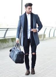 how to dress smart in winter sling bag