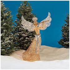 Outdoor Christmas Decorations Angels by 14 Best Outdoor Christmas Decorations Images On Pinterest
