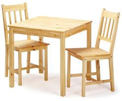 chaises de cuisine en pin links 30500820 table 2 chaises de salle à manger pin