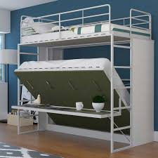Bunk Bed With Stairs And Desk Jessie Twin Over Full Landscape Bunk Bed With Desk Green