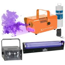 Halloween Fog Machine Halloween Orange Fog Machine With Strobe U0026 Blacklight Idjnow