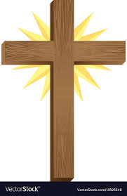 catholic crucifix crucifix christian or catholic icon image vector image
