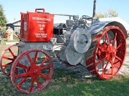 sheridan realty u0026 auction co early iron antique tractor auction