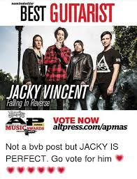 Falling In Reverse Memes - best guitarist nominated for 99 jacky vincent falling in reverse