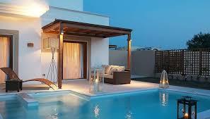 chambre avec piscine priv lindian 5 sejour grece avec voyages auchan