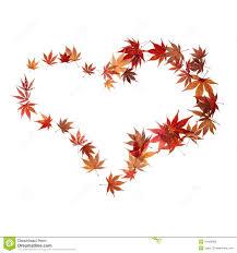 fall leaves heart clipart clipartxtras