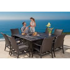 Albertsons Patio Set by Beaumont 7 Piece Sling Dining Set