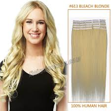 16 inch hair extensions inch 613 in human hair extensions 20pcs
