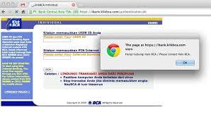 Klikbca Individual Masalah Banking Bca Terkait Virus Chirpstory