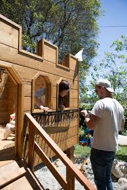 Emily Henderson by Building Our Backyard Castle With Wood Naturally Emily Henderson