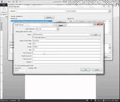 How To Make Resume On Word Create A Bibliography Using Ms Word 2013 Youtube
