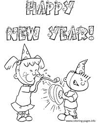 free happy new year colouring pages for kids coloring pages printable