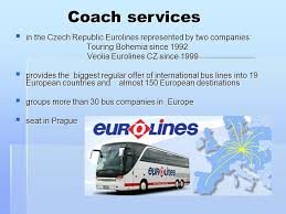 bureau eurolines transport connections by 2 l oa a vose tabor from prague to our