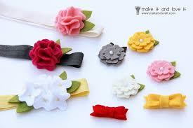 felt flower headband free felt patterns and tutorials free pattern felt flower