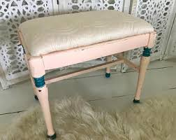 Shabby Chic Footstool by Chalk Painted Etsy