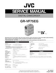 download free pdf for jvc gr dvx407eg camcorders manual