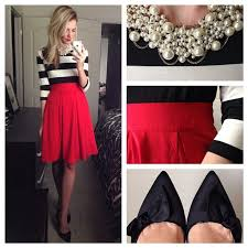 Red And Black Party Dresses Best 25 Christmas Party Ideas On Pinterest