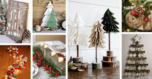 Homemade Christmas Decor 28 Best Rustic Diy Christmas Decor Ideas And Designs For 2017