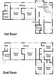 floor plans with guest house guest house floor plan design plans small home design