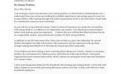 Examples Of Nanny Resumes by 9 Catholic Confirmation Letter Encouragement Resume Reference