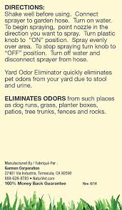 amazon com naturvet yard odor eliminator concentrated ready to
