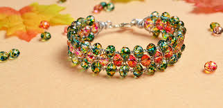 make beaded bracelet wire images Beader garden introduction on making a spring wire wrapped bead jpg