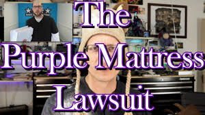 purple mattress lawsuit over not so honest review youtube