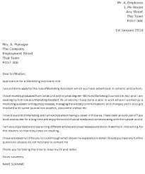 8 best images of marketing cover letter marketing assistant