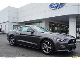 2015 Mustang V6 Black 2015 Magnetic Metallic Ford Mustang V6 Coupe 103050344 Gtcarlot