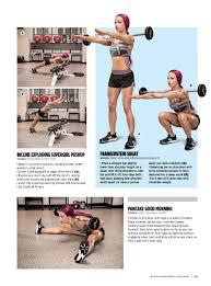 wwe sasha banks in muscle u0026 fitness hers magazine july august