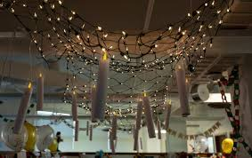 Chandelier That Turns Your Room Into A Forest 9 Christmas Decoration Ideas For The Office Faithlife Blog