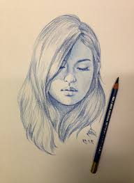 side face sketch how to draw a female face front and side view