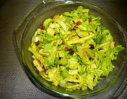 cuisiner c eri branche salade de céleri branche pomme verte sauce au curry cuisine végé