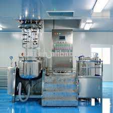 Pomade Kw factory hair manufacturing homogenizing machines pomade