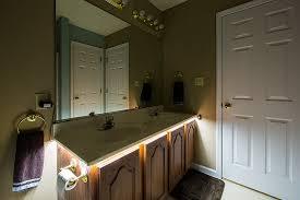 led vanity light strip strip lighting bathroom with popular minimalist eyagci com