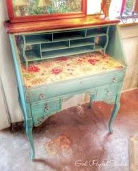 Shabby Chic Furniture Paint Colors by Gorgeous Painted Console Using Farmhouse Paint Colors French Blue