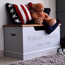 personalised toy box or storage chest by chatsworth cabinets