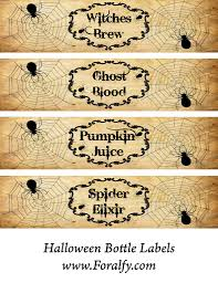244 best halloween bottles labels images on pinterest spooky wine