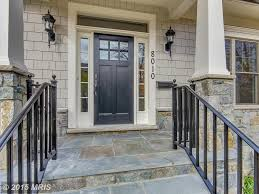 traditional front door with exterior tile floors u0026 exterior stone