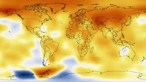 World Temperatures Map svs five year average global temperature anomalies from 1880 to 2011