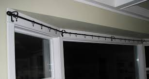 Curved Window Curtain Rods For Arch Bay Window Rods With Arched Window Curtain Rod With Next Bay