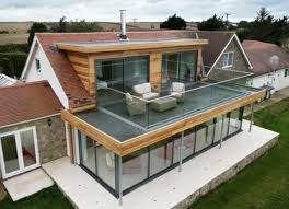 veranda cuisine idée relooking cuisine veranda ultra moderne veranda toit plat