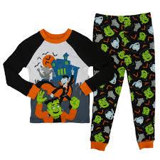 halloween pajamas for babies happy halloween infant u0026 toddler boys werewolf dracula