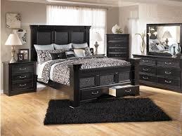 bedroom sets ashley furniture brilliant black queen bedroom sets cavallino queen storage bedroom