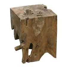 teak wood end table natural teak wood end table products moe s usa